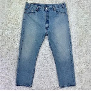 Men's USA Levi's 505 Straight Leg Jeans 40x30